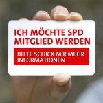 Banner Mitglied werden in der SPD