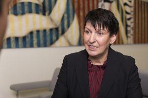 Bürgermeisterin und Landtagsabgeordnete Eva Lux