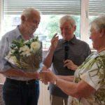 Walter Westmeier mit Hans Klose und Marianne Hoermann