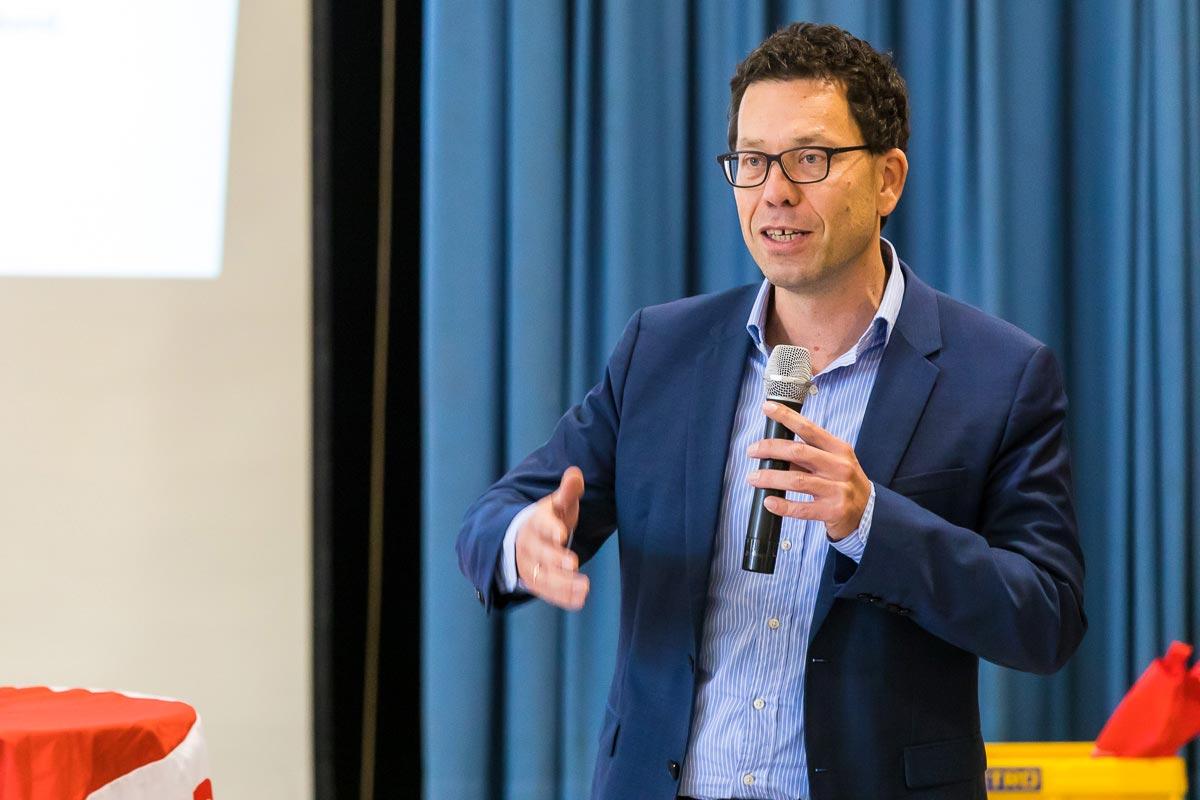 Dirk Timm, Vorsitzender der SPD-Fraktion in den Verbandsversammlungen des VRS und der NVR