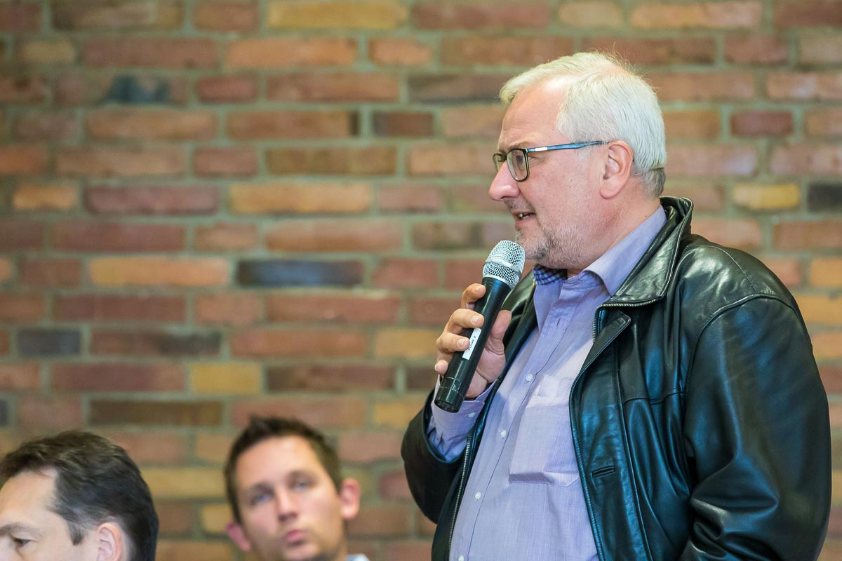 Peter Ippolito beim Parteitag