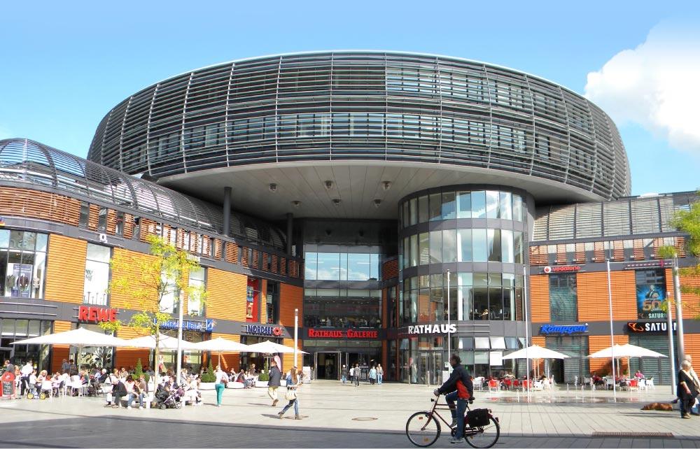 Rathaus Frontalaufnahme